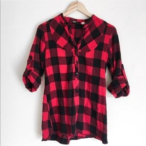 Urban Outfitters Buffalo Check Plaid Flannel